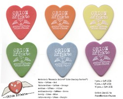 Orion Effekte Plektren Picks