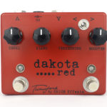 Twangtone Dakota Red lowgain overdrive with booster